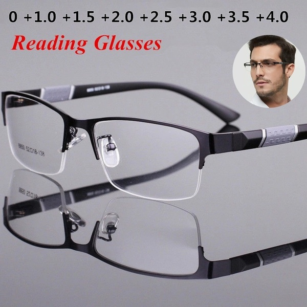 Blues, Metal, Accessories, Reading Glasses