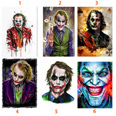 crossstitch, Joker, Decor, DIAMOND