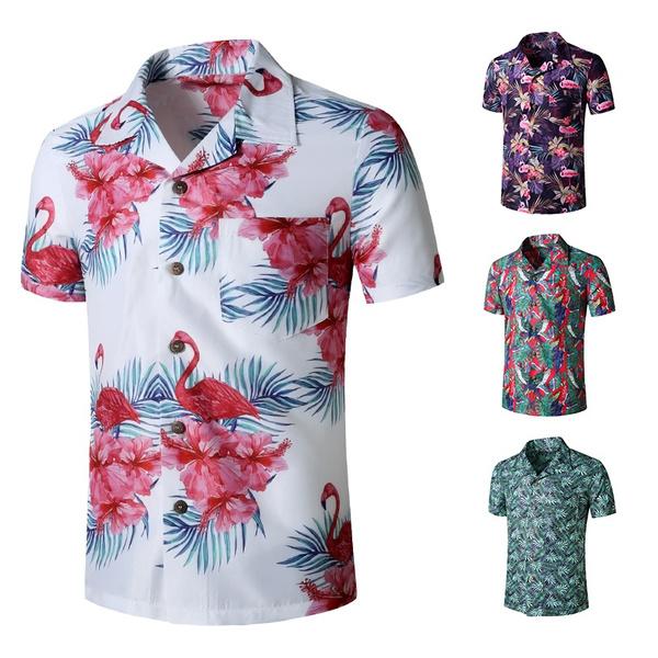 short sleeves, Fashion, Shirt, partyshirt