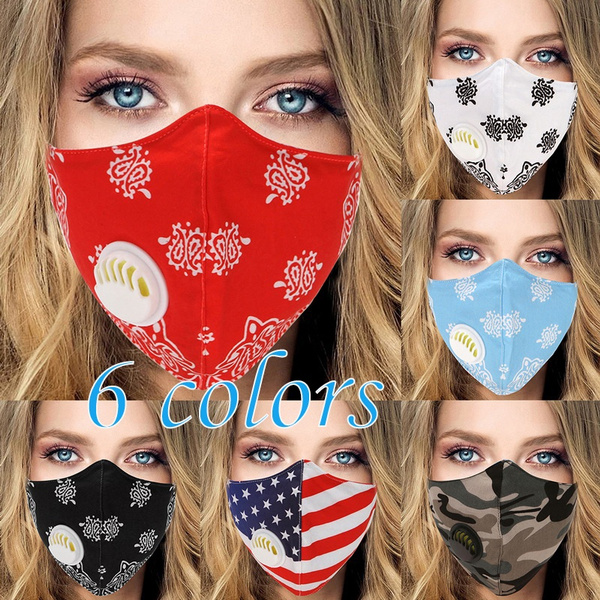facecoverwithbreathingvalve, dustproofcover, windprooffoggymask, printfacemask