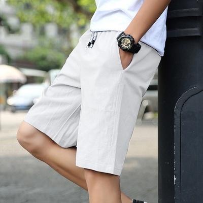 Summer, Shorts, Waist, Elastic