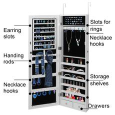 Box, Door, Jewelry, jewelrycabinet