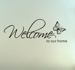 wallvinyl, Home & Living, Wall Decal, poetry