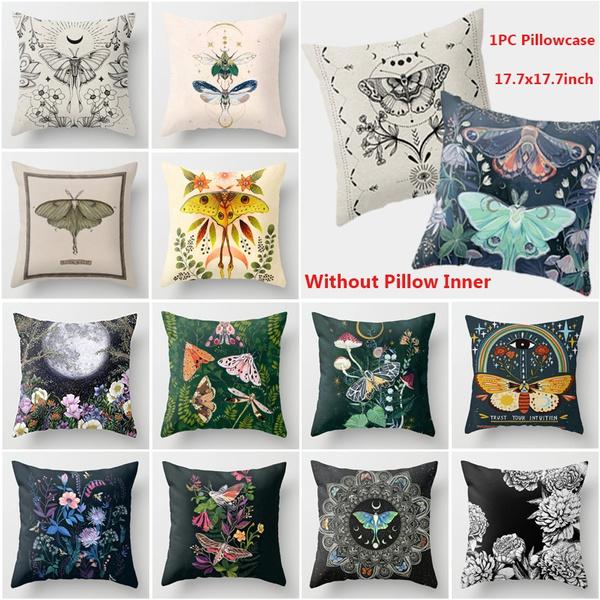butterfly, Home Decor, Mushroom, moth