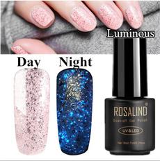 Glitter, art, Beauty, UV Gel Nail