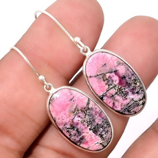 pink, Copper, Turquoise, pinkturquoiseearring