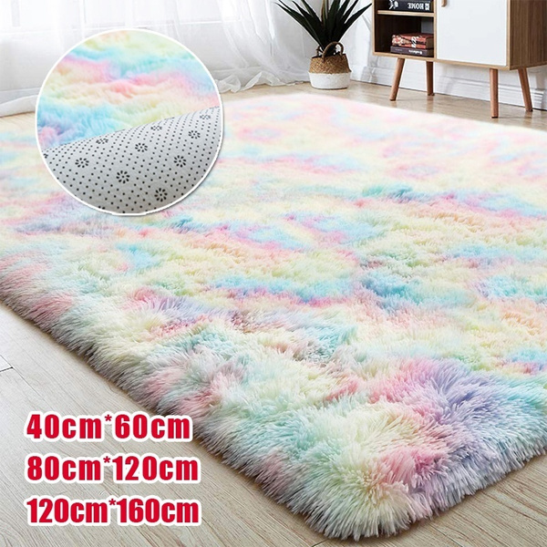 rainbow, bedroomcarpet, shaggycarpet, fluffy