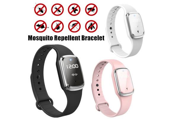 PEISHI intelligente Ultraschall-Moskito-absto/ßendes Armband Mosquito