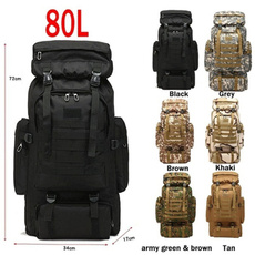 travel backpack, Shoulder Bags, Outdoor, Army