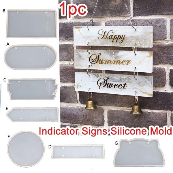 Door, Silicone, indicatorsignsmold, resinmold