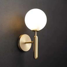 Ball, Night Light, Glass, walllamp