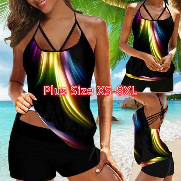 padded, Plus Size, Plus Size Swimwear, Bikini swimwear