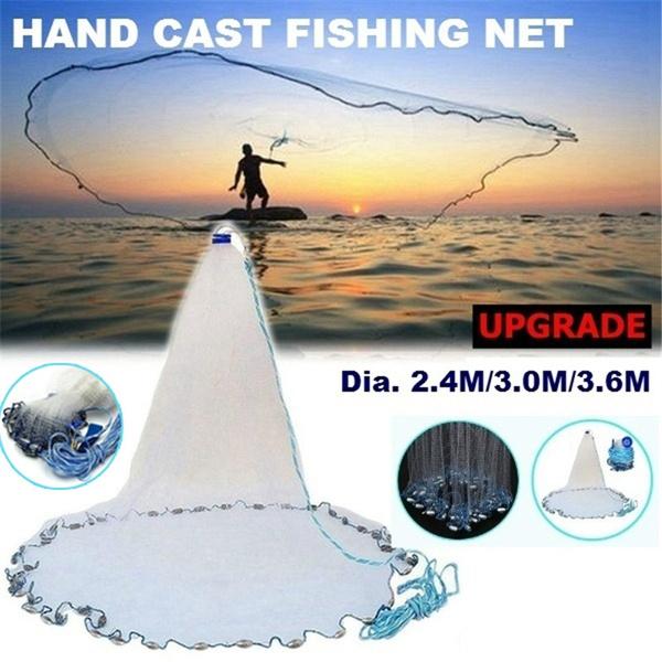 Steel, castnetfishing, Outdoor Sports, foldablefishingnet