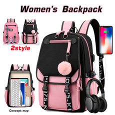 travel backpack, student backpacks, School, usbcharing