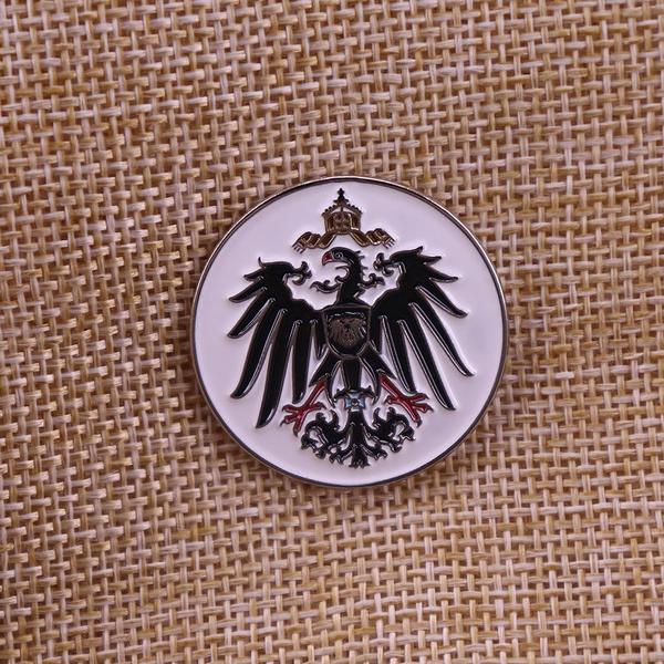 Eagles, eaglebrooch, Pins, prussian