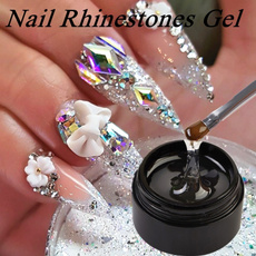 DIAMOND, art, Jewelry, UV Gel Nail