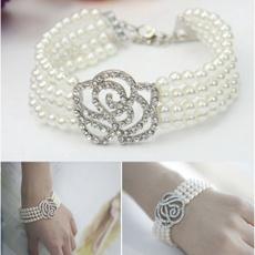 Flowers, Jewelry, Elegant, Rose