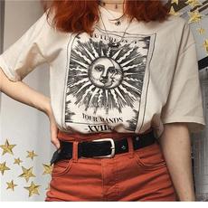 Summer, Fashion, Harajuku, short sleeves
