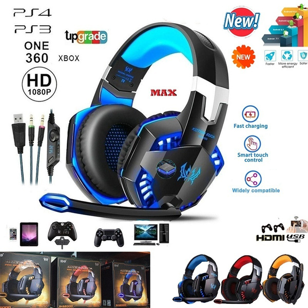 Headset, noiseisolation, ledgamingheadset, gamingheadset
