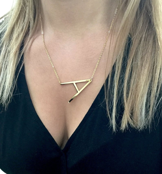 lettersnecklace, cordaodeouro, Jewelry, giftfromgirlfriend