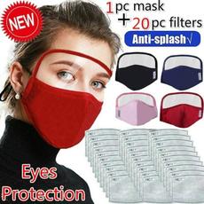 Algodón, dustproofmask, filtermask, shield