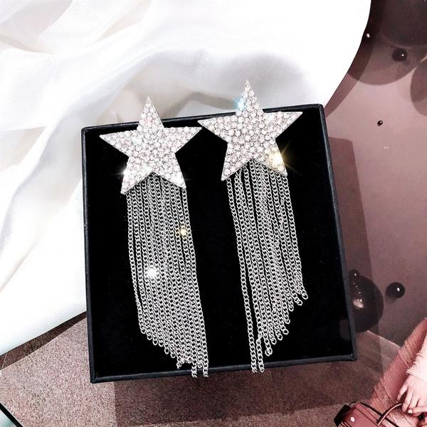 Tassels, Star, Jewelry, Chain