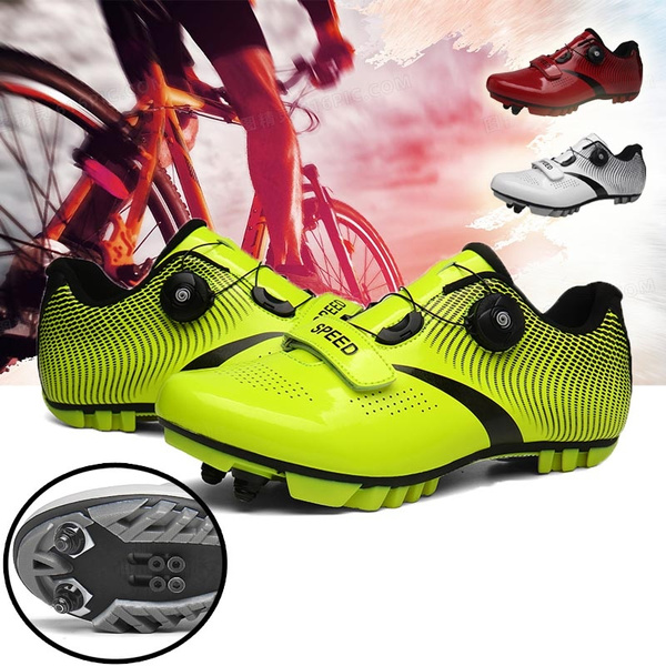 Mtb Professional Cycling Shoes Men Road Bike Shoes Self-Locking Bicycle Sneakers