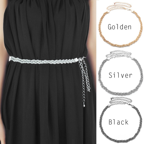 Fashion Accessory, belts for dresses, Waist, Chain