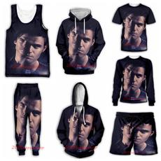 3D hoodies, Vest, Fashion, Casual pants
