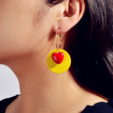 exaggeratedearring, earrings jewelry, candycolorearring, Jewelry