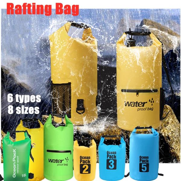 waterproof bag, beachbag, raftingsack, waterfloatingbag