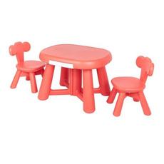 childrenstablesandchair, Home & Living, Coral, Plastic