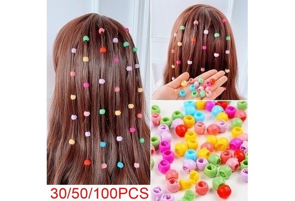 100PCS Hair Claw Clips For Women Girls Cute Candy Accessories Hairpins Colo O1Z6