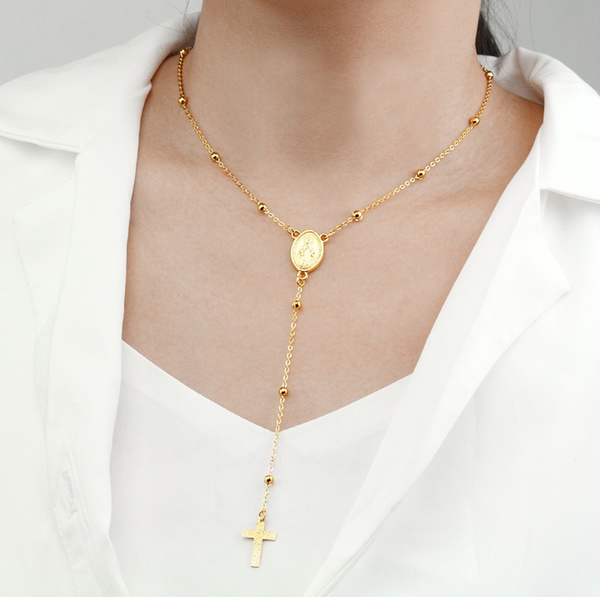 Chain Necklace, Fashion, Cross necklace, Cross Pendant