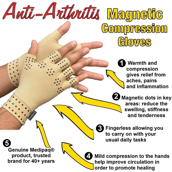 magneticarthritisglove, healjoint, Support, massagetherapyglove