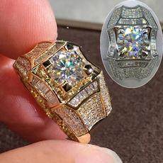 Sterling, Fashion, Engagement Ring, Men