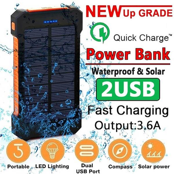 Flashlight, olarlightsoutdoor, Battery Pack, camping