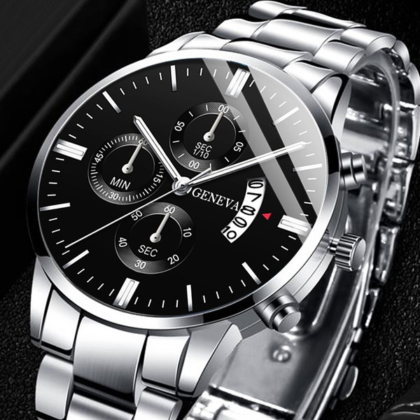Fashion, Stainless Steel, Watch, quartz