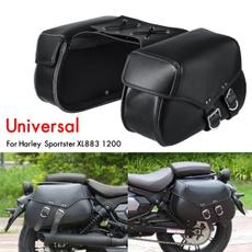 saddlebag, Storage, bobber, Harley