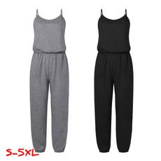 Summer, Women Rompers, Plus Size, pants