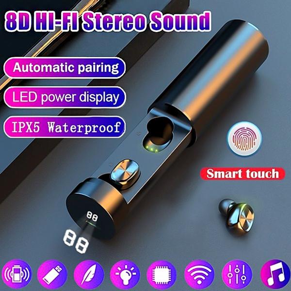 led, Headset, earphonebluetooth, touchcontrol
