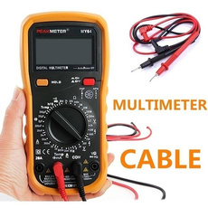 Wire, digitalmultimeter, testline, probe
