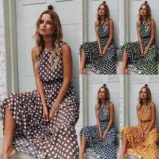 Summer, strapless, Fashion, Dresses