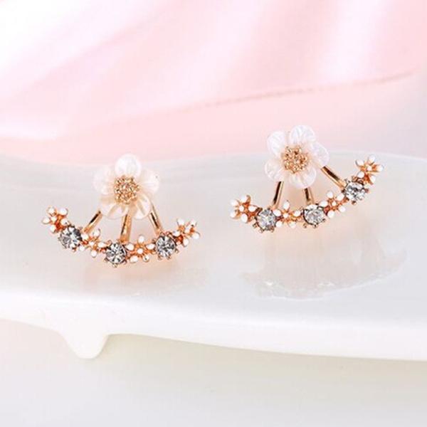 Fashion, Ladies Fashion, gold, Stud Earring