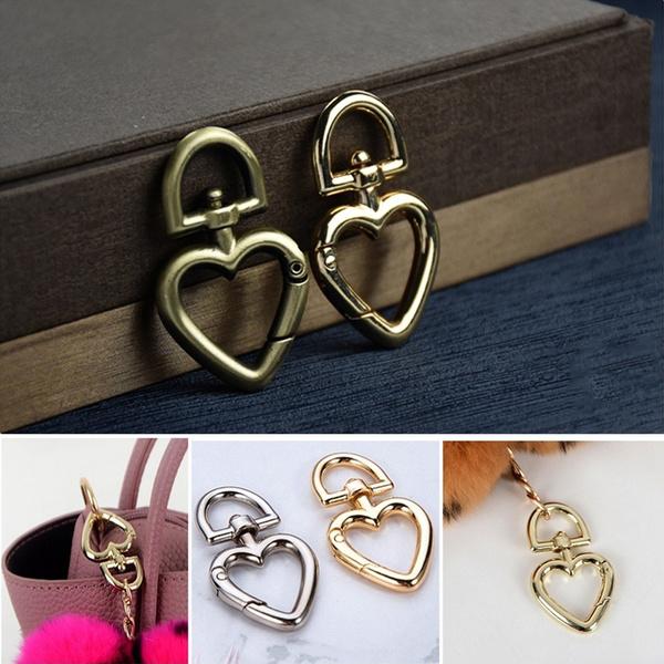 Heart, Carabiners, Fashion, Jewelry