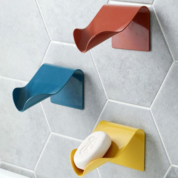 wallmountedsoapholder, nontracesoapholder, Home Decoration, solidsoapdish
