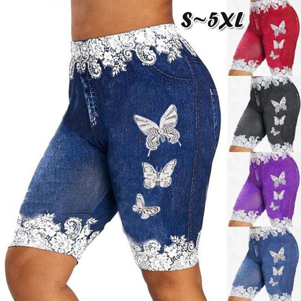 butterfly, 3dprintpant, Plus Size, 2019jean