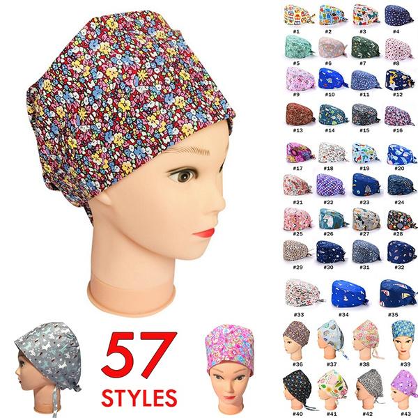 printedcap, Fashion, Cotton, surgicalhat