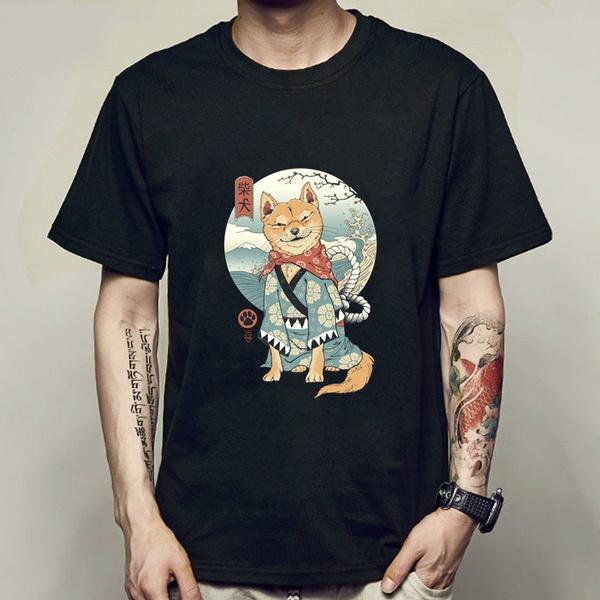 shiba, Funny, Fashion, Shirt