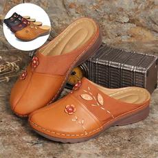 Sandals, England, bohemianslipper, leather